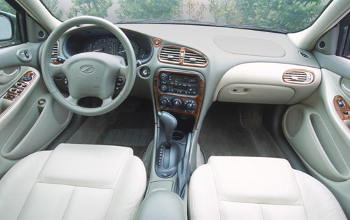 oldsmobile alero 2001 interior