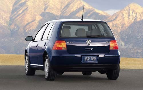 2000 Volkswagen Golf Rear exterior #7