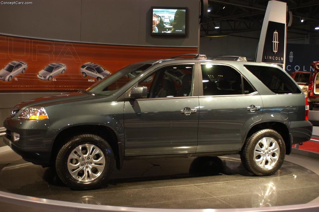 2003 Acura MDX - Information and photos - ZombieDrive