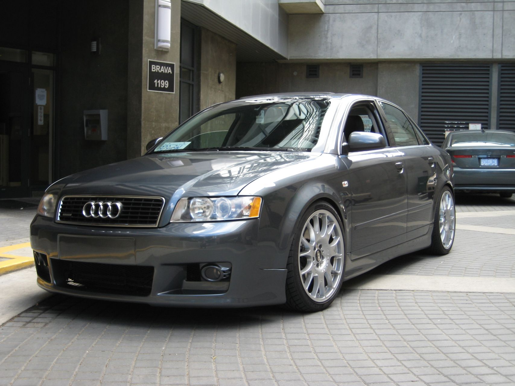 2003 Audi A4 Information and photos ZombieDrive