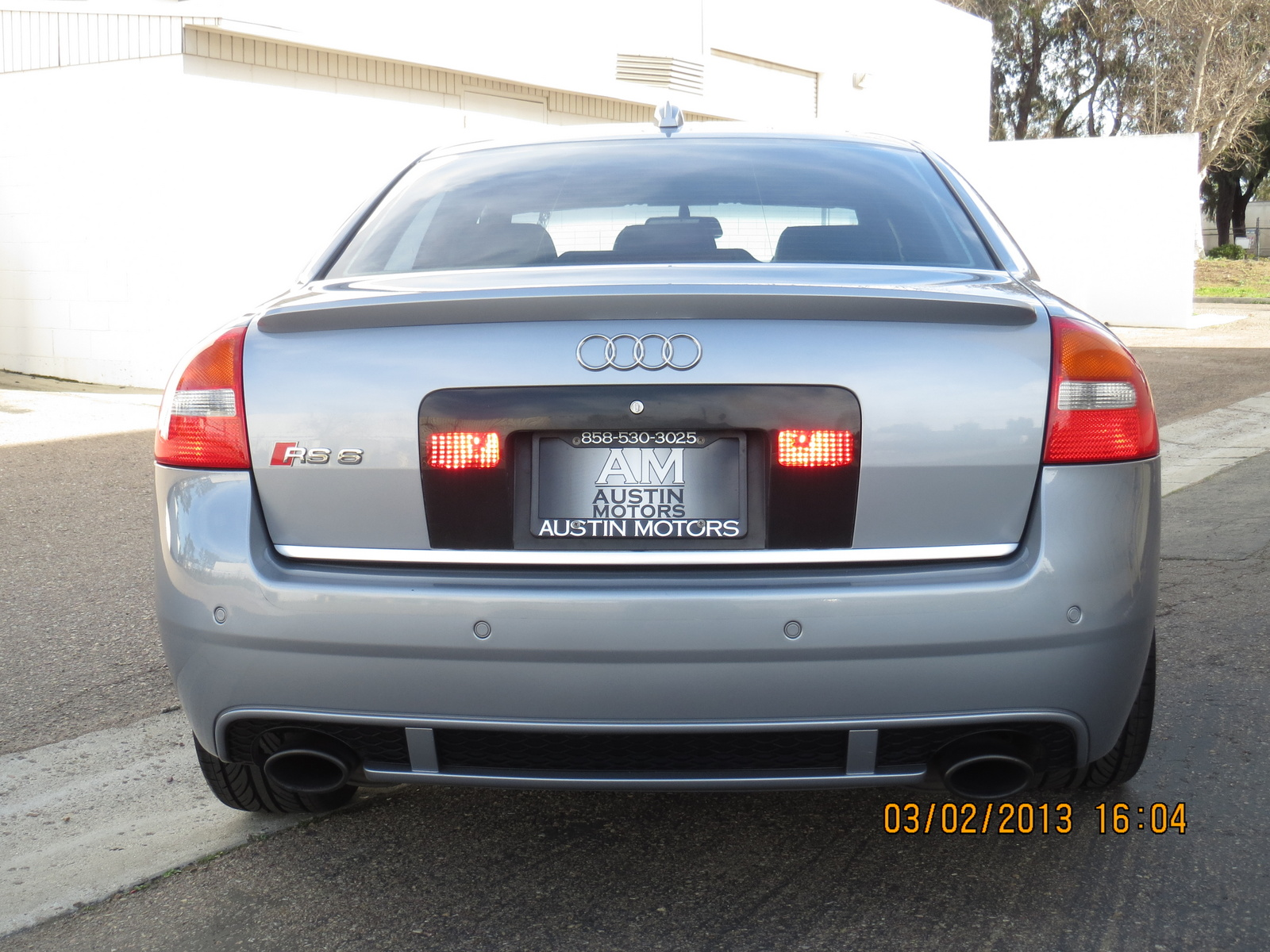 2003 Audi Rs 6 Image 10