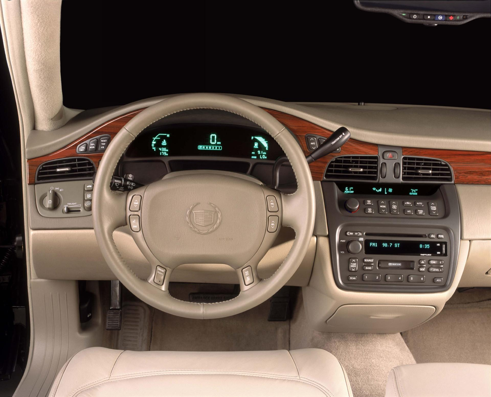 2003 Cadillac DeVille  Information and photos  ZombieDrive