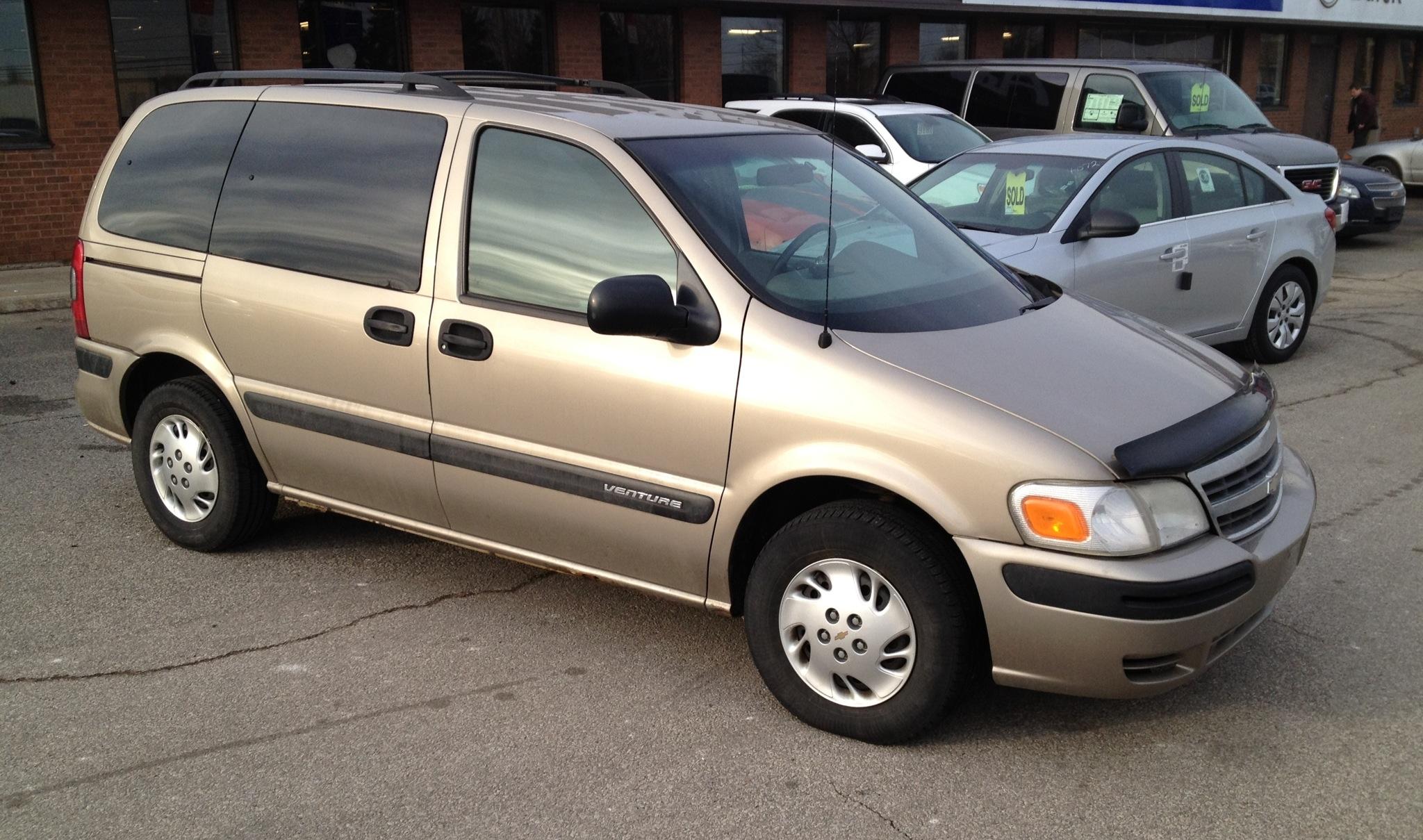 Chevrolet Venture on 2003 Chevy Venture Van