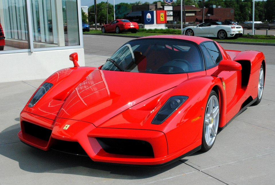 2003 Ferrari Enzo Information And Photos Zombiedrive