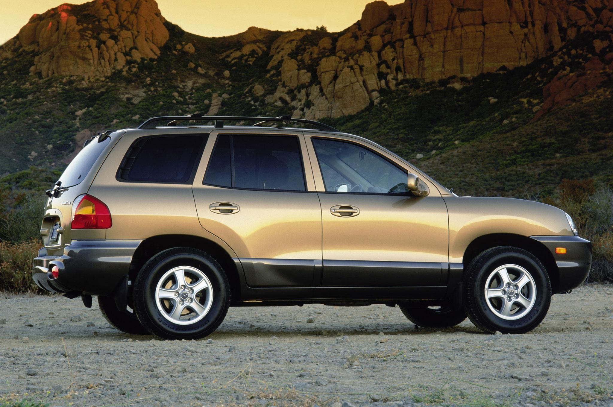2003 Hyundai Santa Fe Image 4