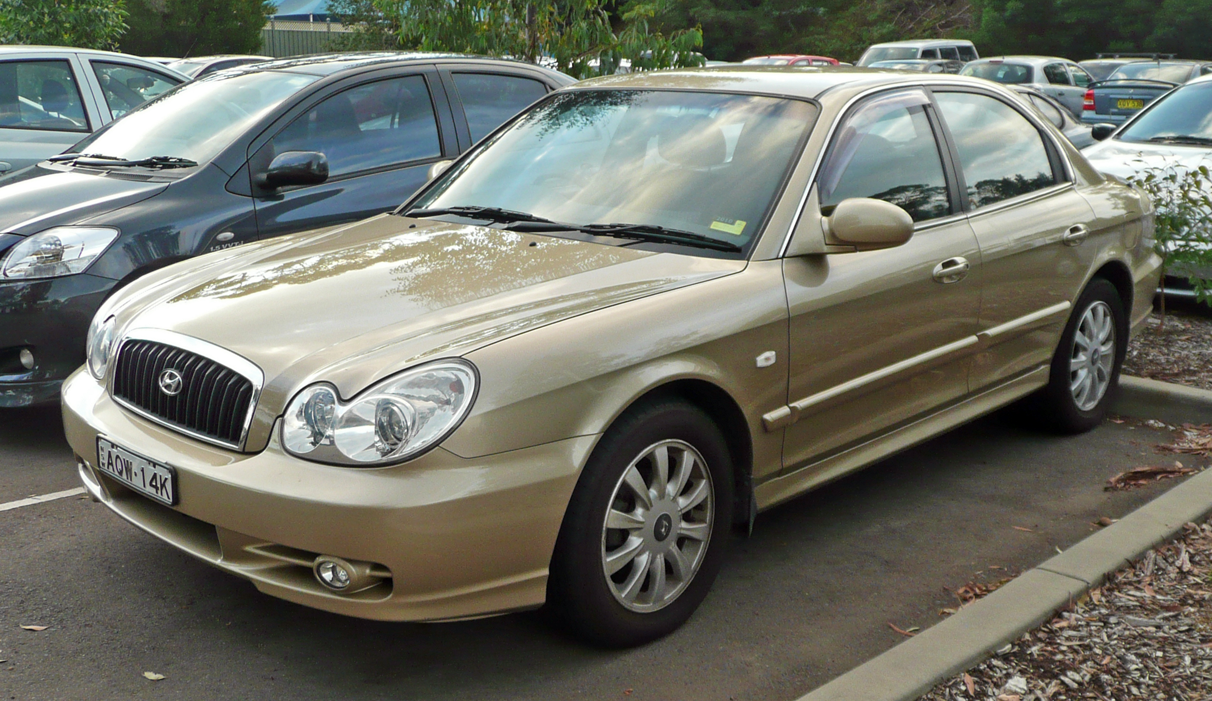 2003 Hyundai Sonata Information And Photos Zombiedrive