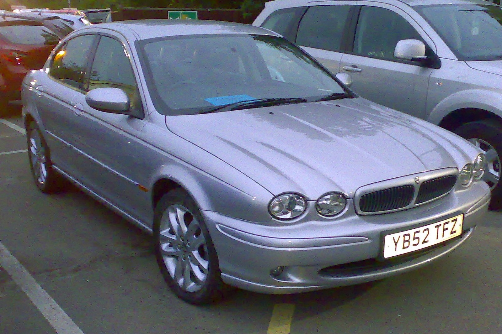 Wonderful 2003 Jaguar X Type #16 Jaguar X Type #16
