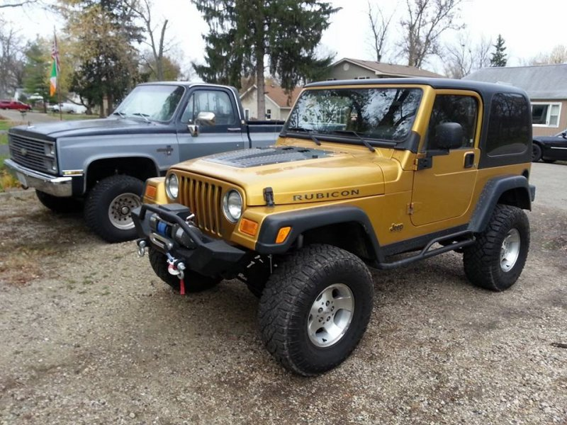 2003 Jeep Wrangler #18 Jeep Wrangler #18