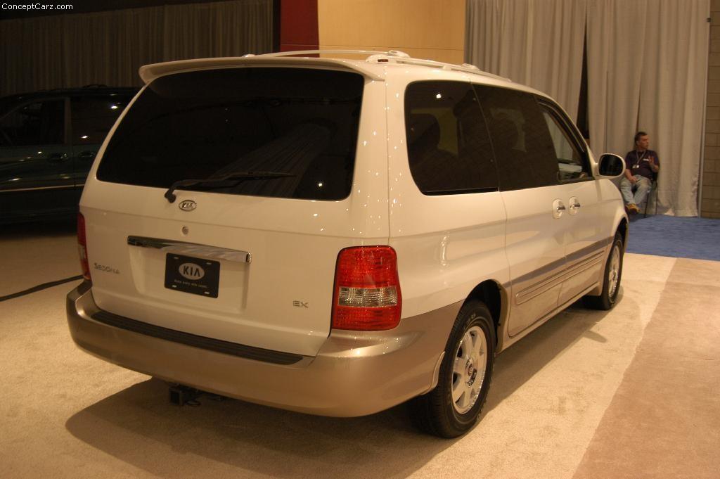 2003 Kia Sedona 2