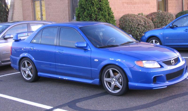 2003 Mazda Protege #40 Mazda Protege #40