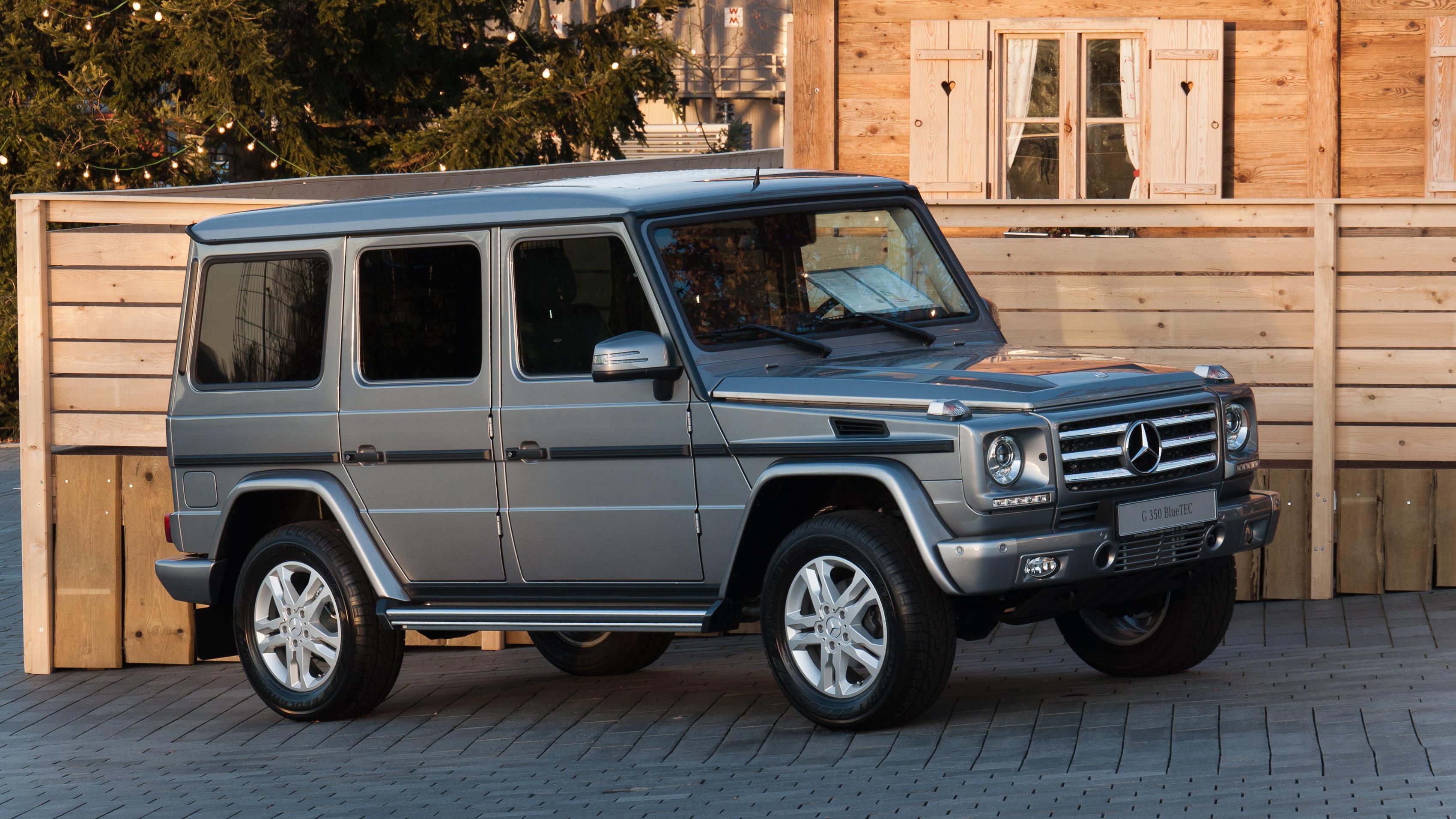 Silver 2010 mercedes benz g class