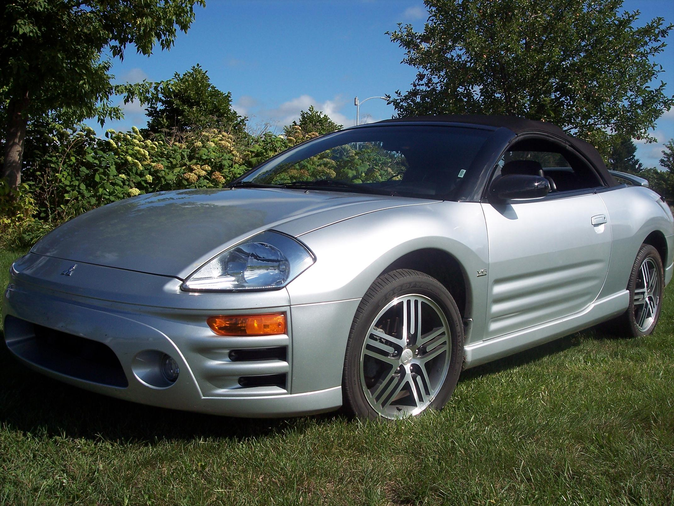 2003 mitsubishi eclipse spyder information and photos zombiedrive. Black Bedroom Furniture Sets. Home Design Ideas