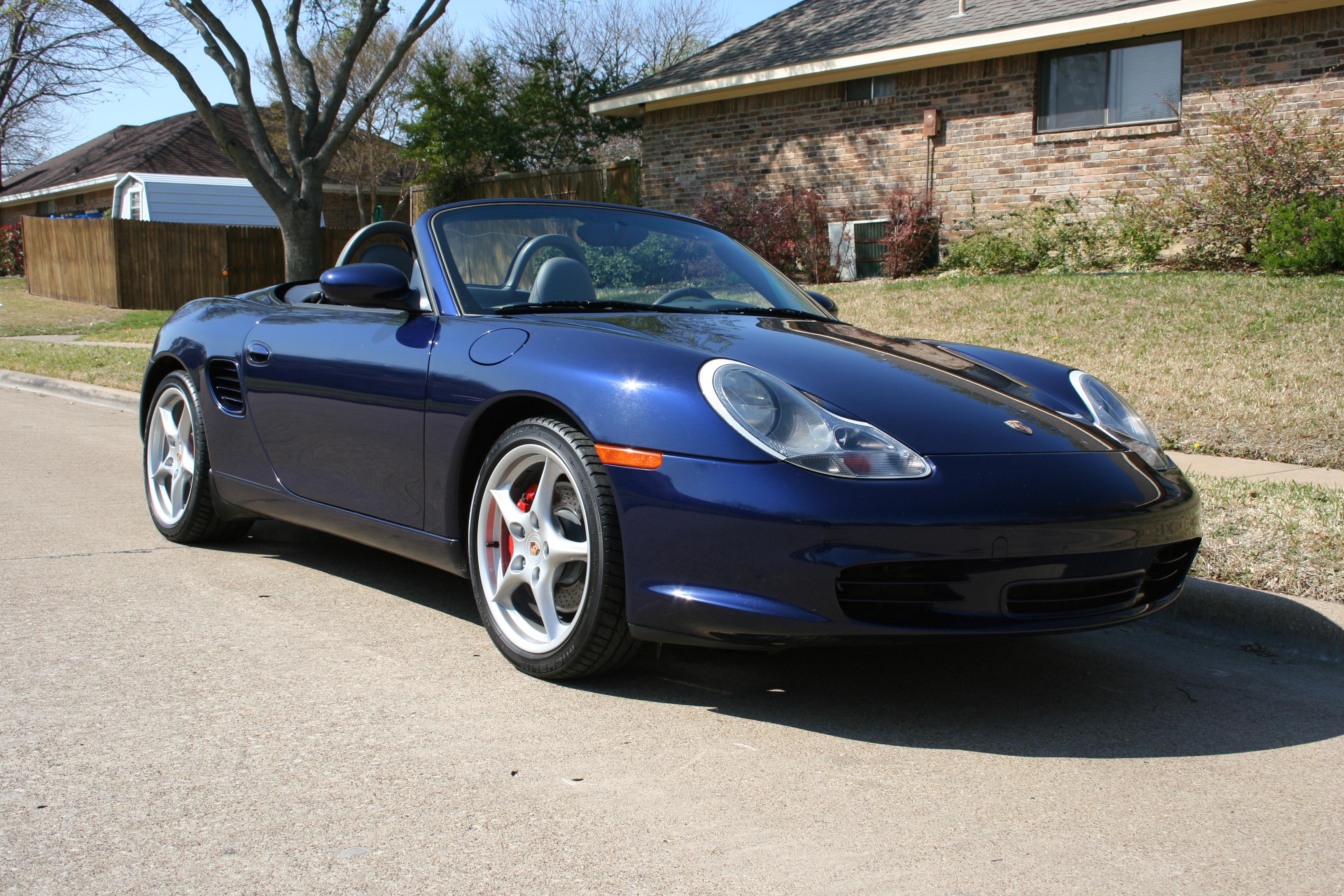 2003 Porsche Boxster - Information and photos - ZombieDrive