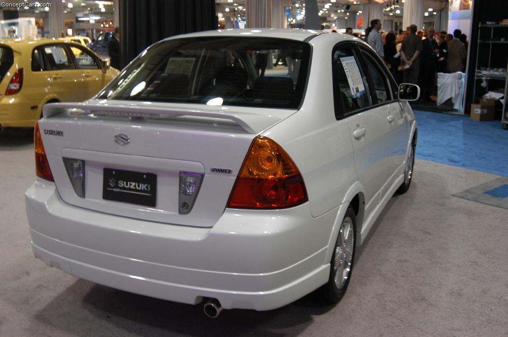 2003 Suzuki Aerio - Information and photos - ZombieDrive