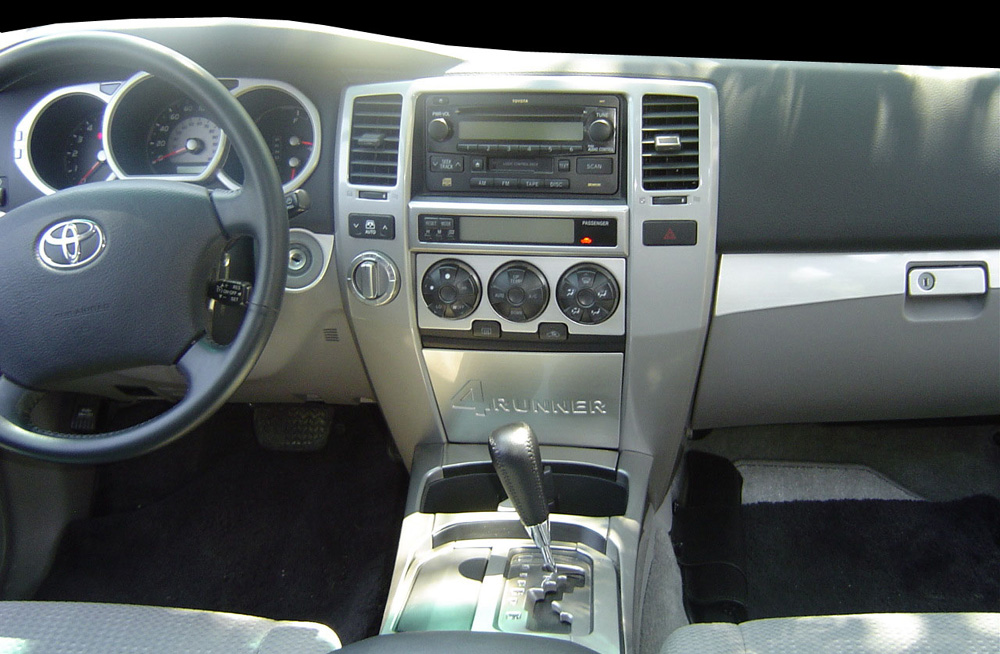 2003 Toyota 4runner Information And Photos Zombiedrive