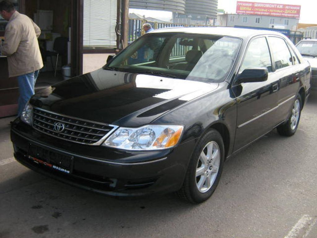 2003 toyota avalon information and photos zombiedrive. Black Bedroom Furniture Sets. Home Design Ideas