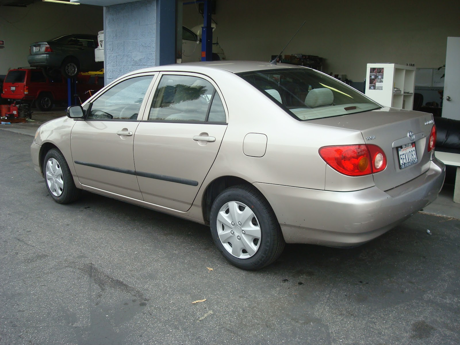 2003 Toyota Corolla #11 Toyota Corolla #11