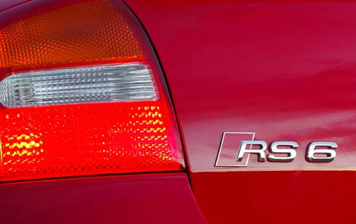2004 Audi RS 6 Rear Badgi exterior #4