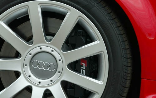 2004 Audi RS 6 Rear Badgi exterior #6