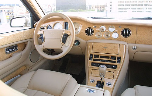2003 Bentley Arnage R Rea interior #9