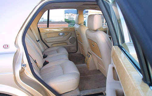 2003 Bentley Arnage R Rea interior #6