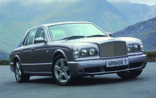 2003 Bentley Arnage R Rea interior #2