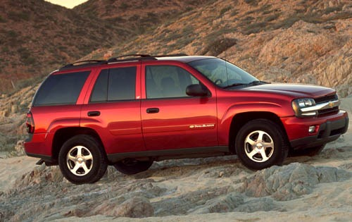 2003 Chevrolet TrailBlaze exterior #8