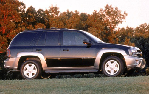 2003 Chevrolet TrailBlaze exterior #11