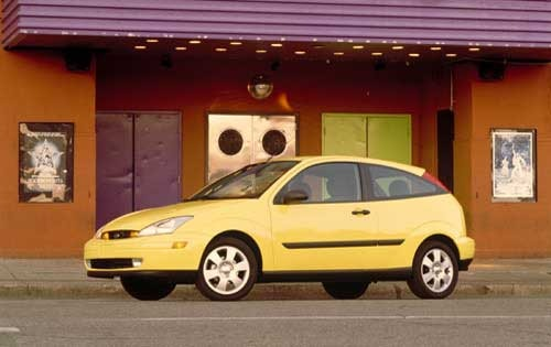 2000 Ford Focus 2 Dr ZX3  exterior #3