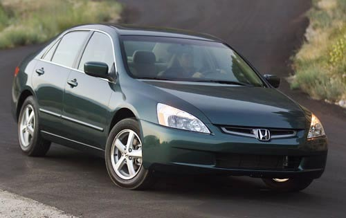 2003 Honda Accord EX V-6  interior #4