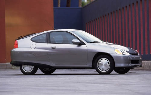 2003 Honda Insight 2dr Ha exterior #9