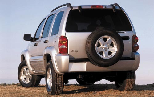2003 Jeep Liberty Renegad exterior #5