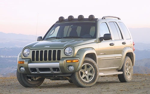 2003 Jeep Liberty Renegad exterior #1