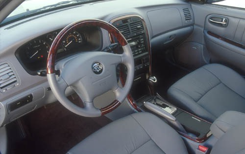 2003 Kia Optima SE V6 Int interior #7