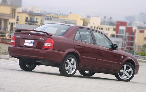 2003 Mazda Protege #10 2002 Mazda Protege5 4dr W Interior #10