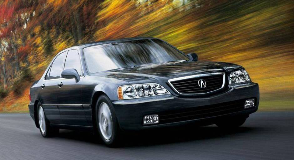 acura rl 2004 review