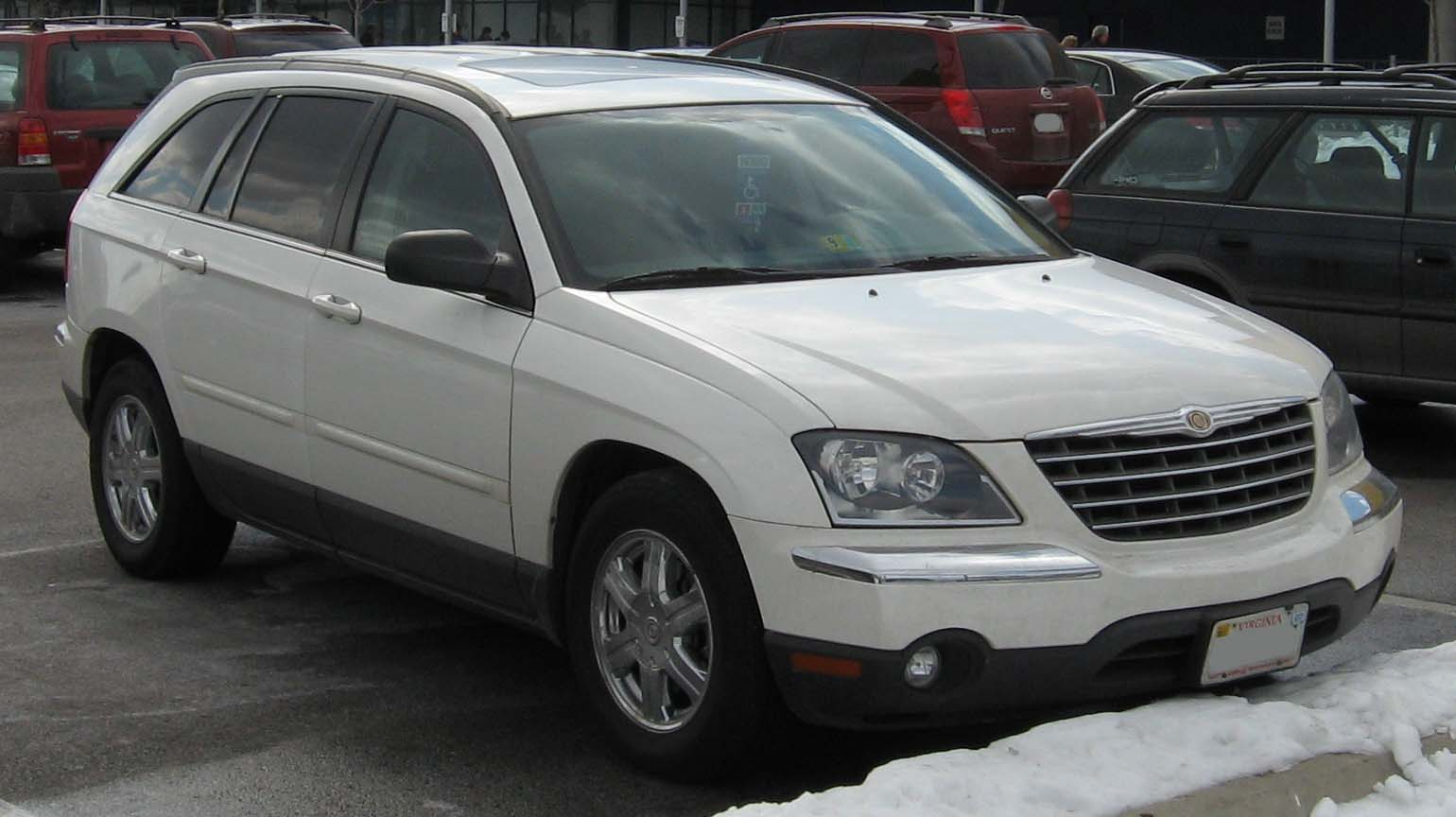 2004 chrysler pacifica information and photos zombiedrive. Black Bedroom Furniture Sets. Home Design Ideas