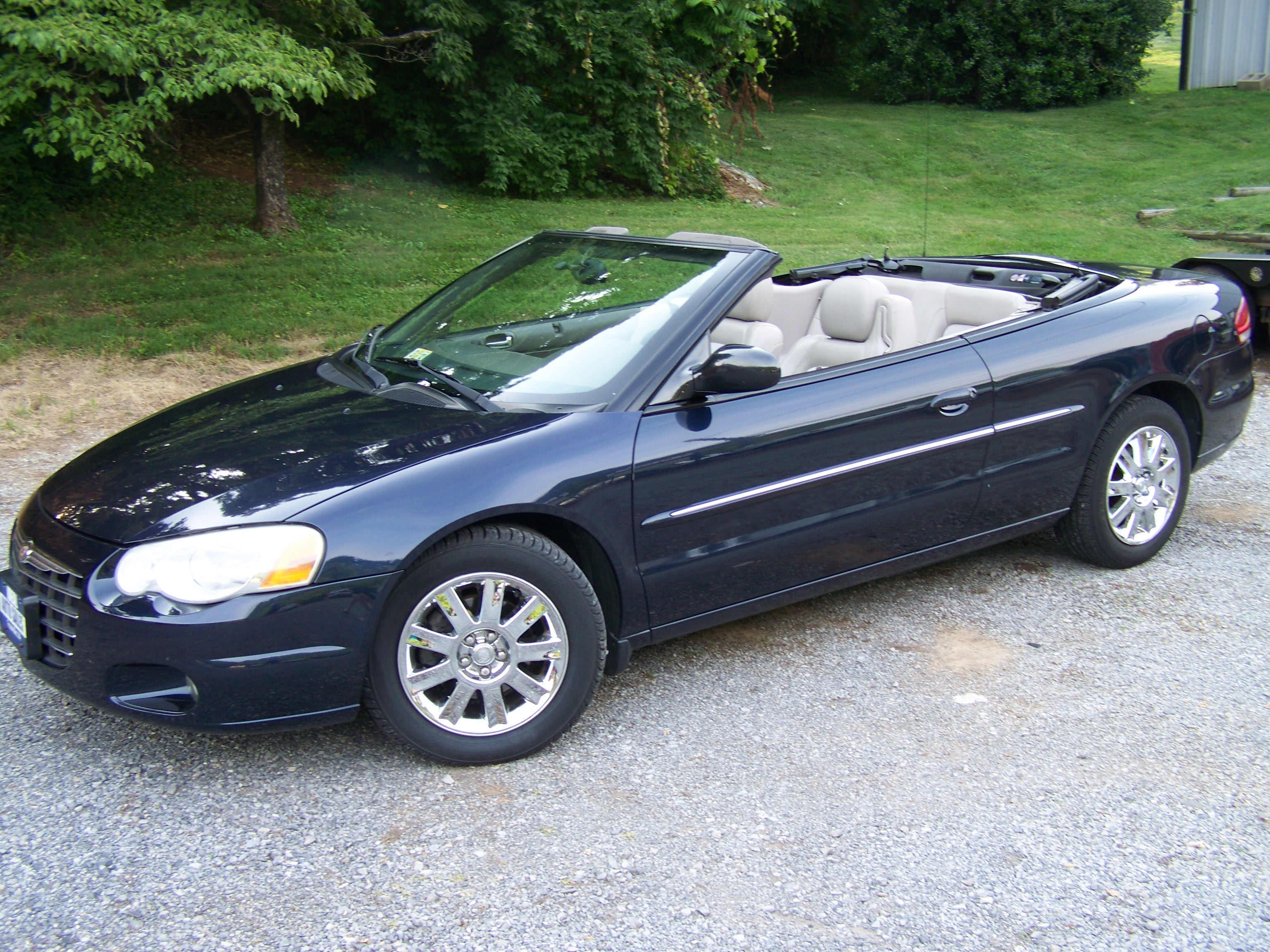 2004 Chrysler Sebring Blue | 200+ Interior and Exterior Images