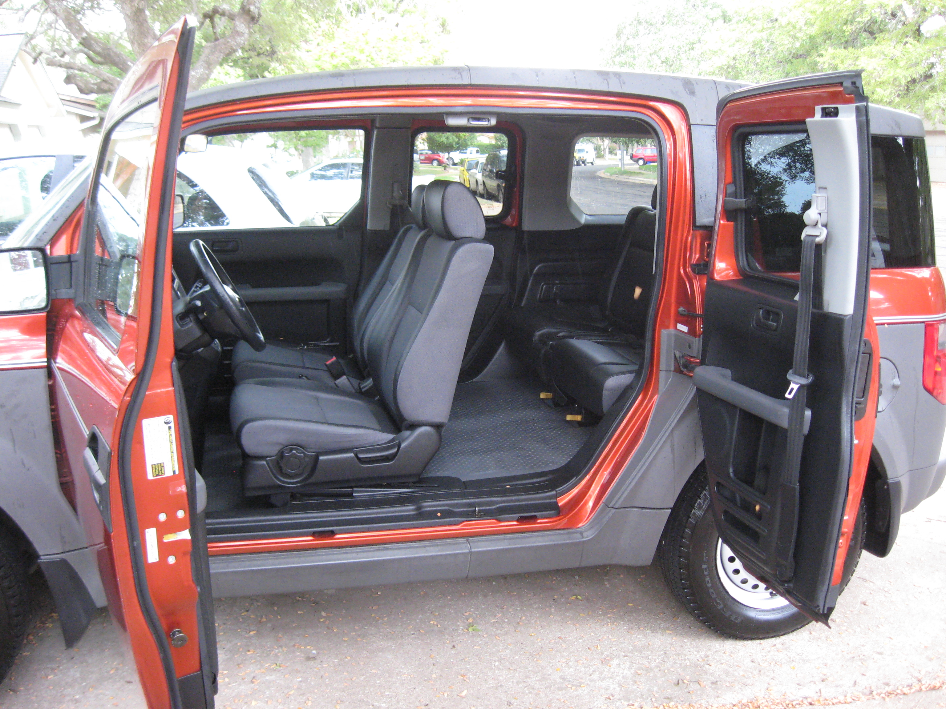 2004 Honda Element 8