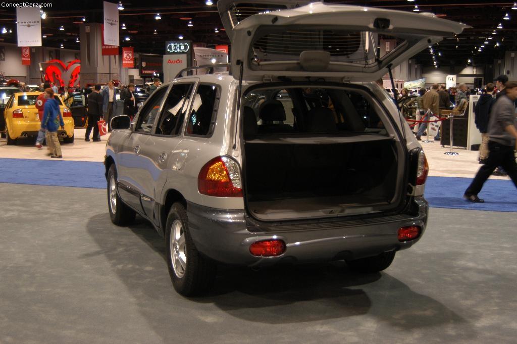 2004 Hyundai Santa Fe Image 17
