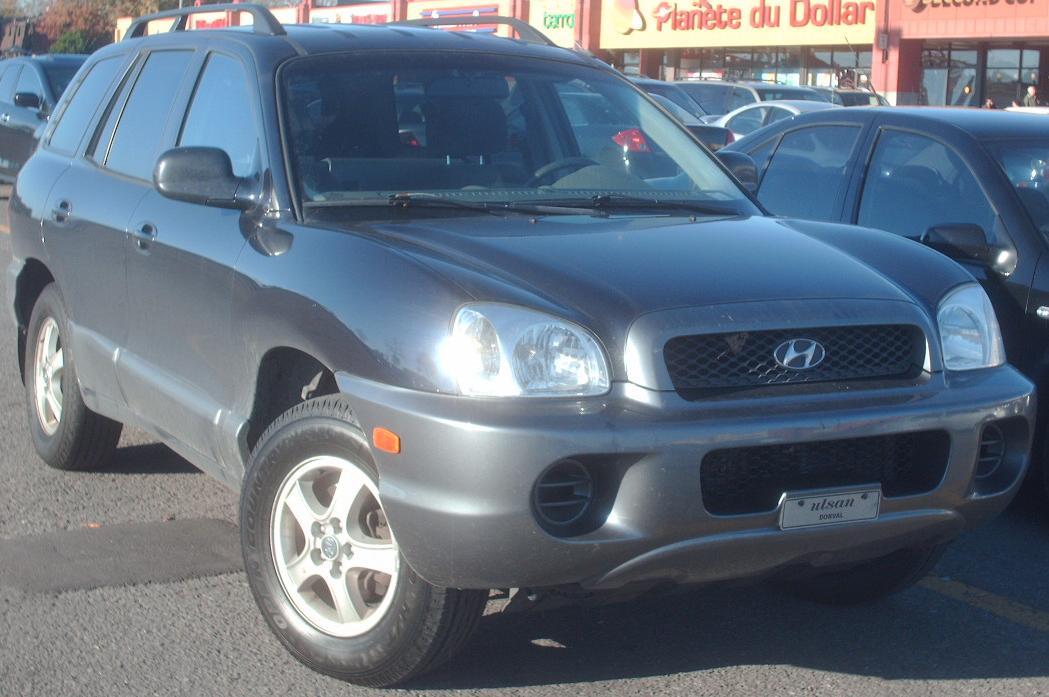 2004 Hyundai Santa Fe 10