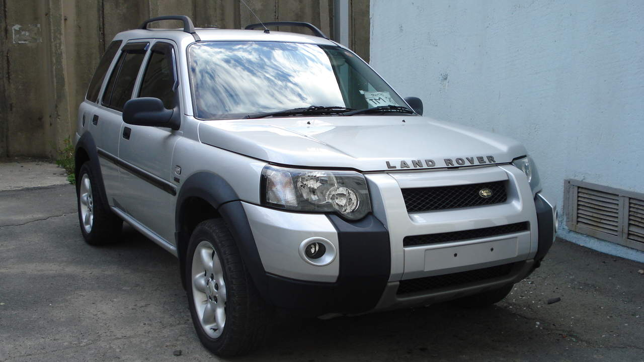 2004 land rover freelander information and photos. Black Bedroom Furniture Sets. Home Design Ideas