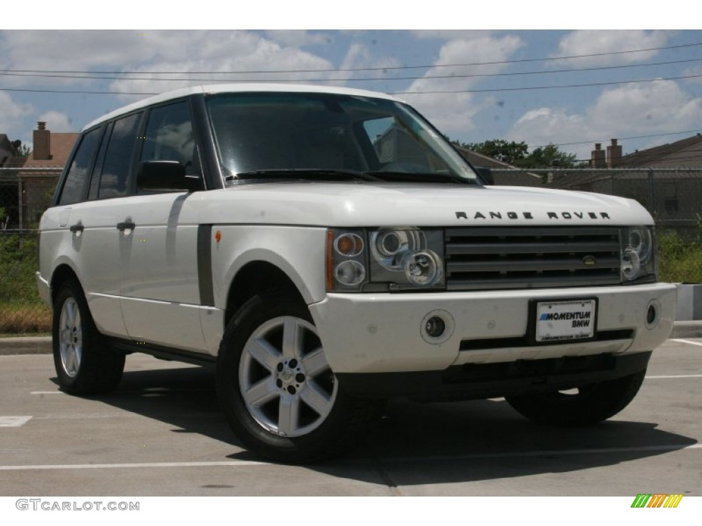 2004 land rover range rover information and photos zombiedrive. Black Bedroom Furniture Sets. Home Design Ideas