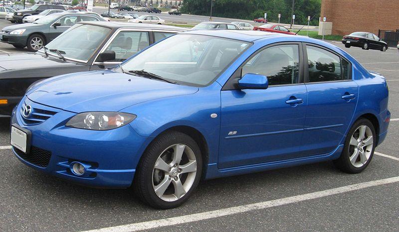2004 Mazda MAZDA3 - Information and photos - ZombieDrive