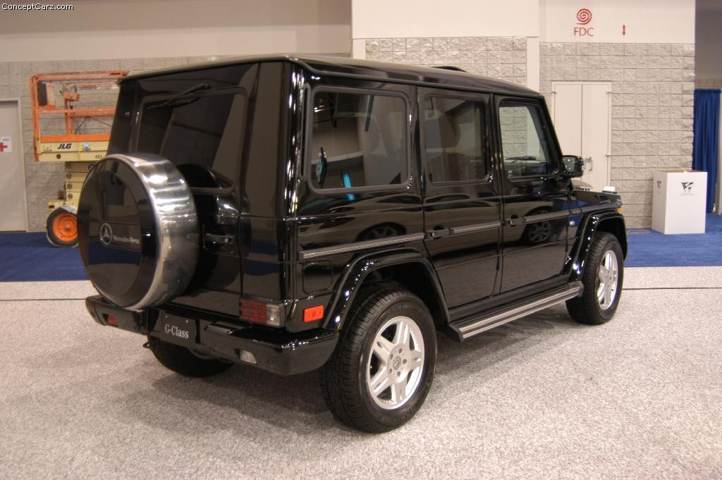 2004 mercedes benz g class information and photos