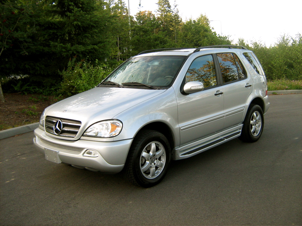2004 mercedes benz m class information and photos for What s the cheapest mercedes benz