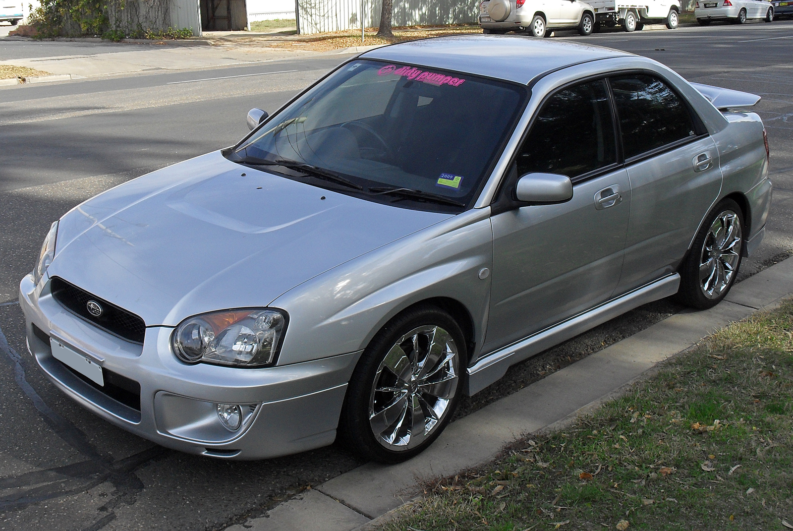 2004 subaru impreza information and photos zombiedrive. Black Bedroom Furniture Sets. Home Design Ideas