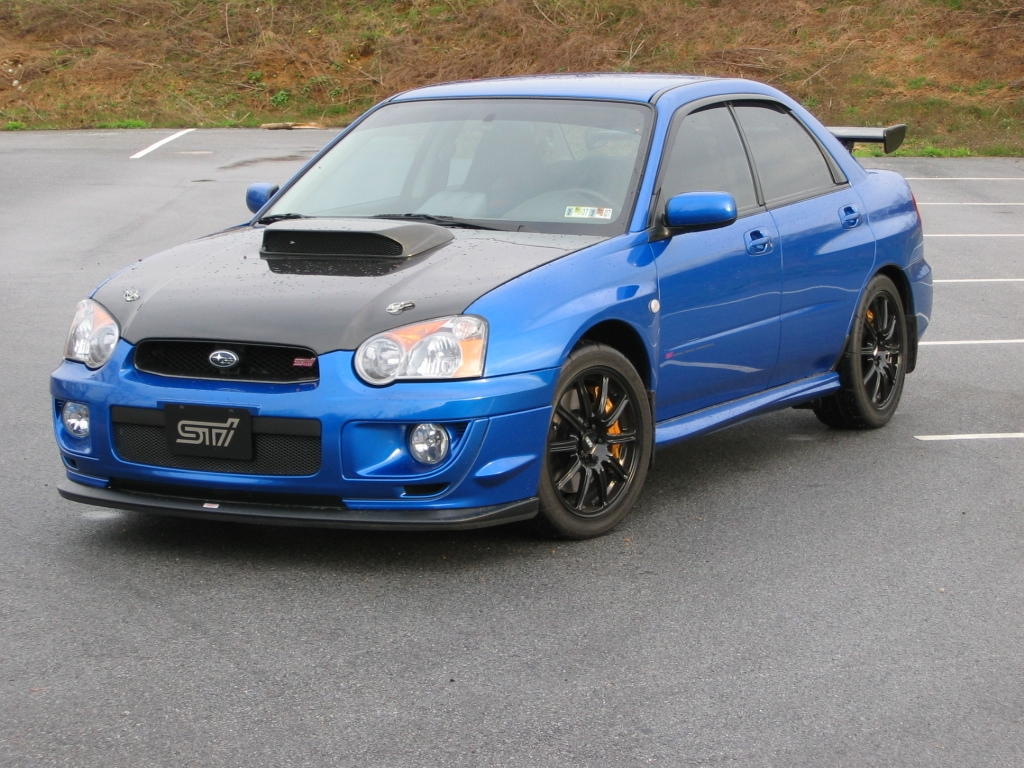 2004 Subaru Impreza Information And Photos Zombiedrive
