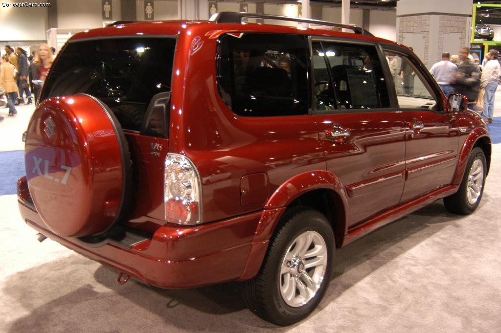 2004 suzuki xl 7 information and photos zombiedrive. Black Bedroom Furniture Sets. Home Design Ideas