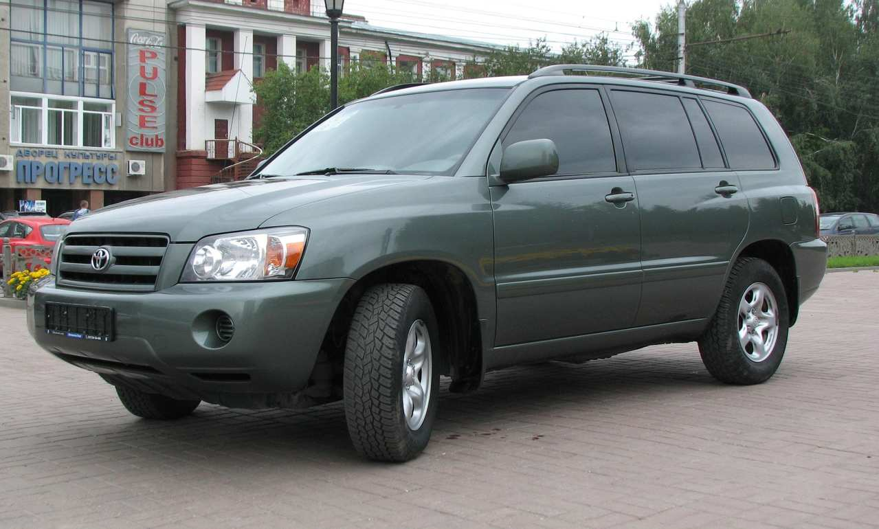 Toyota Highlander Information And Photos ZombieDrive - 2004 highlander